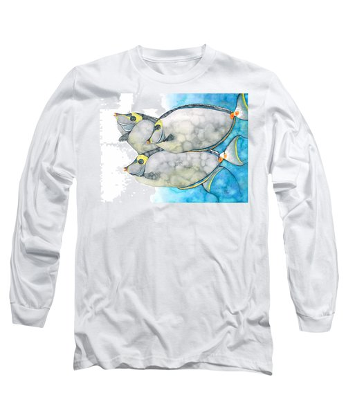 Orangespine Unicornfish Long Sleeve T-Shirt