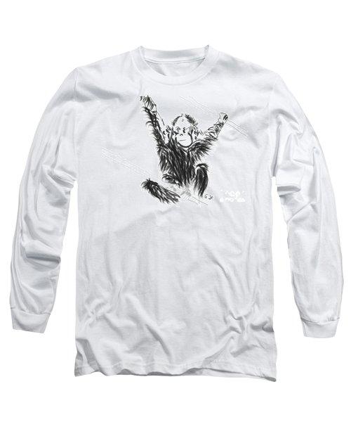 Orangutan Baby Long Sleeve T-Shirt