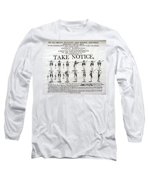 Order Of Battle - Take Notice Brave Men Long Sleeve T-Shirt