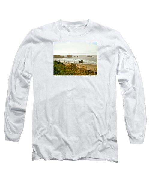 Oregon Beach Long Sleeve T-Shirt