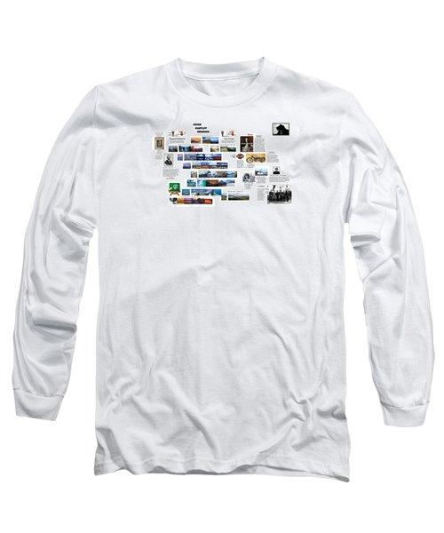 Origin8ing Long Sleeve T-Shirt by Peter Hedding