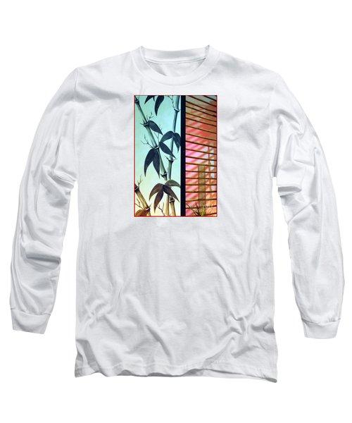 Ornamental Oriental Long Sleeve T-Shirt by Chris Anderson
