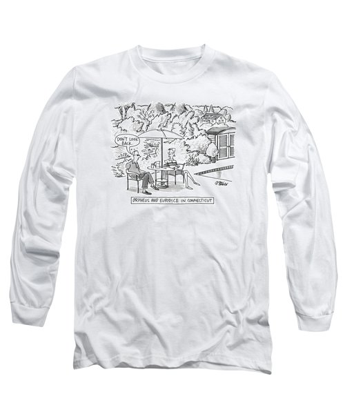 Orpheus And Eurydice In Connecticut Long Sleeve T-Shirt