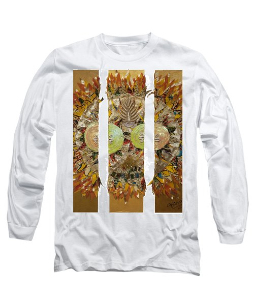 Osun Sun Long Sleeve T-Shirt by Apanaki Temitayo M