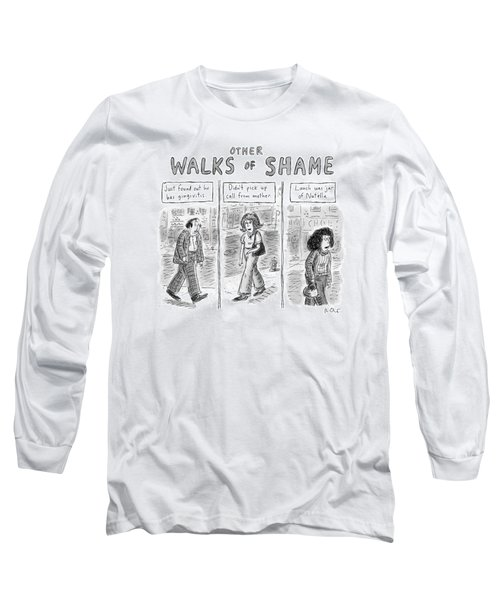 Other Walks Of Shame -- Just Found Long Sleeve T-Shirt