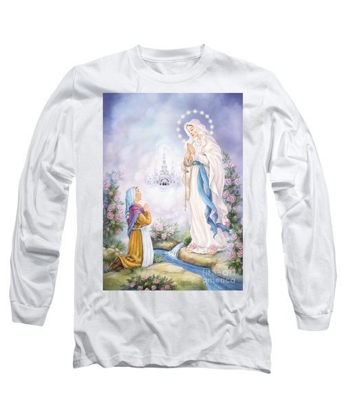 Our Lady Of Lourdes Long Sleeve T-Shirt