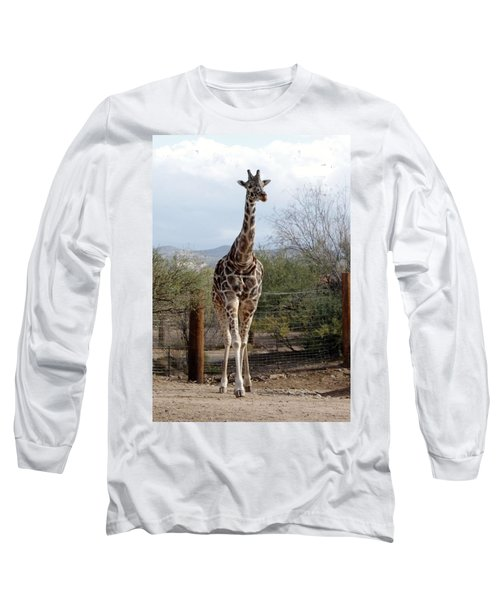 Out Of Africa  Giraffe 1 Long Sleeve T-Shirt