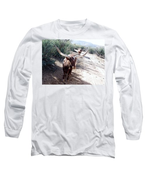 Out Of Africa  Long Horns Long Sleeve T-Shirt