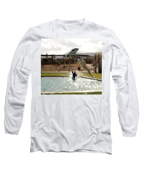 Out Of Africa  Tiger Splash 6 Long Sleeve T-Shirt