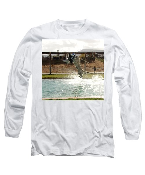 Out Of Africa Tiger Splash 7 Long Sleeve T-Shirt