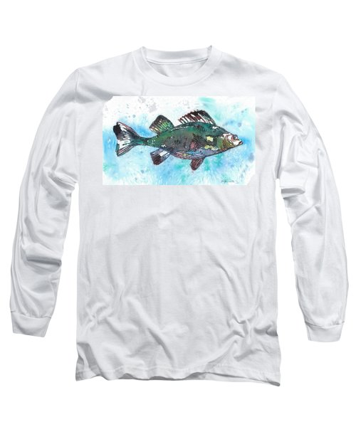 Out Of School Long Sleeve T-Shirt by Barbara Jewell