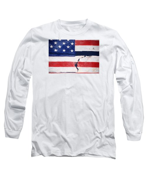 Long Sleeve T-Shirt featuring the photograph Out Of The Rubble  September 11 2001 by John Schneider