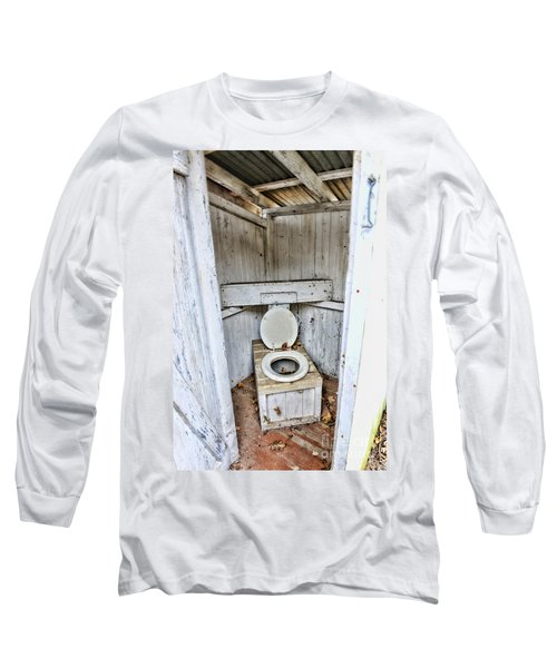 Outhouse A Look Inside Long Sleeve T-Shirt