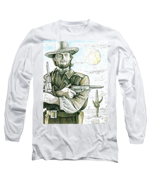 Outlaw Josey Wales Long Sleeve T-Shirt by Bern Miller