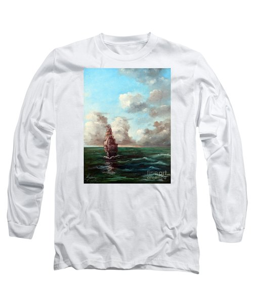 Outrunning The Storm Long Sleeve T-Shirt