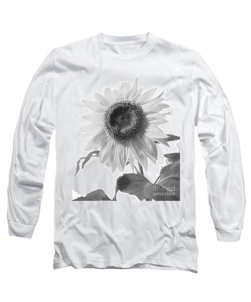 Over Looking The Garden Long Sleeve T-Shirt by Alana Ranney