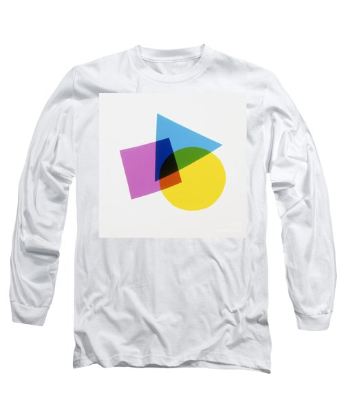 Overlapping Shapes Long Sleeve T-Shirt