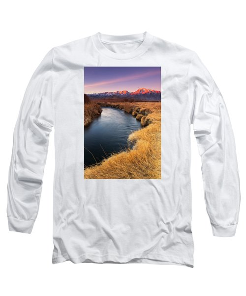 Owens River Long Sleeve T-Shirt by Tassanee Angiolillo