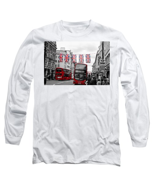 Oxford Street Flags Long Sleeve T-Shirt
