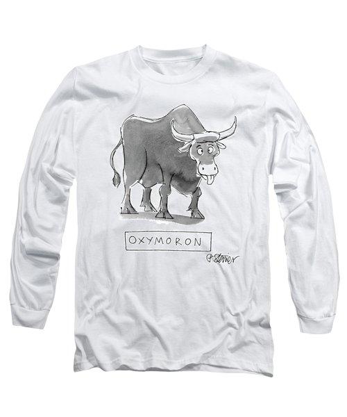 'oxymoron' Long Sleeve T-Shirt