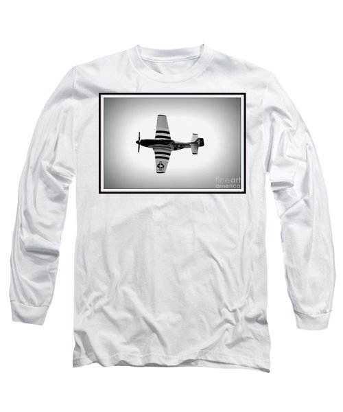 P51 King Of The Skies Long Sleeve T-Shirt by Kevin Fortier