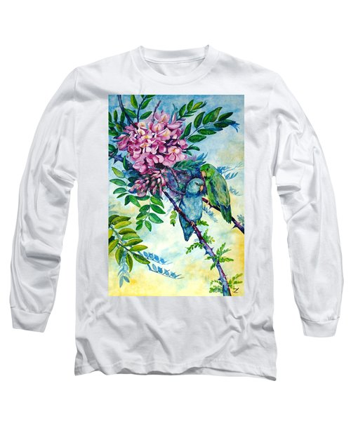 Pacific Parrotlets Long Sleeve T-Shirt
