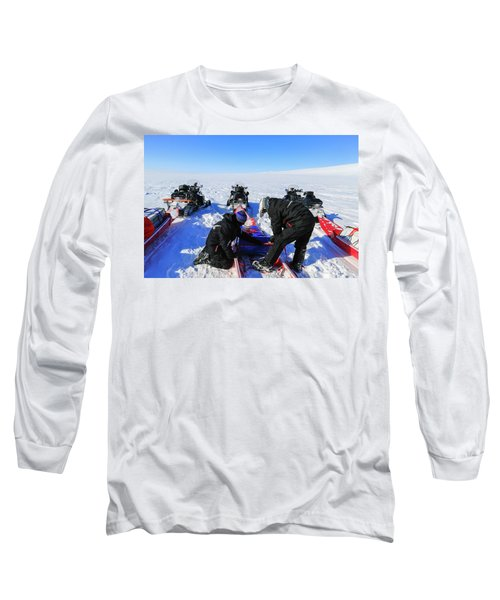 Packing And Adjusting Expedition Gear Long Sleeve T-Shirt