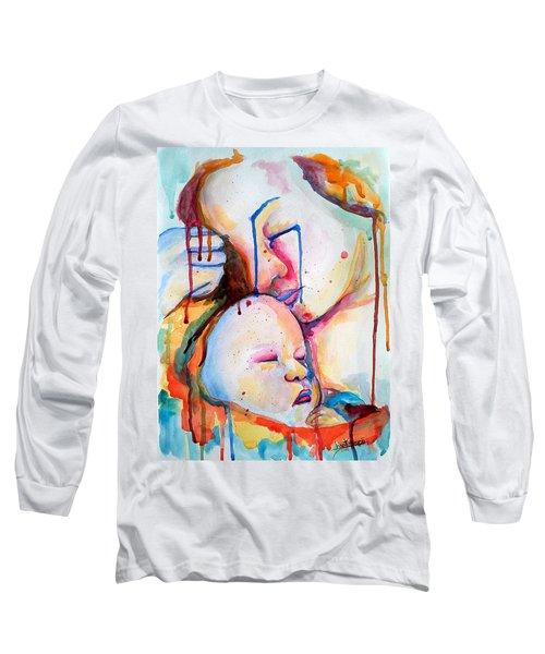 Painful Joy Long Sleeve T-Shirt by Janet Garcia