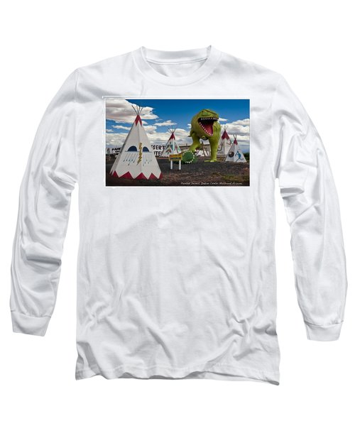 Painted Desert Indian Center  Long Sleeve T-Shirt by Gary Warnimont