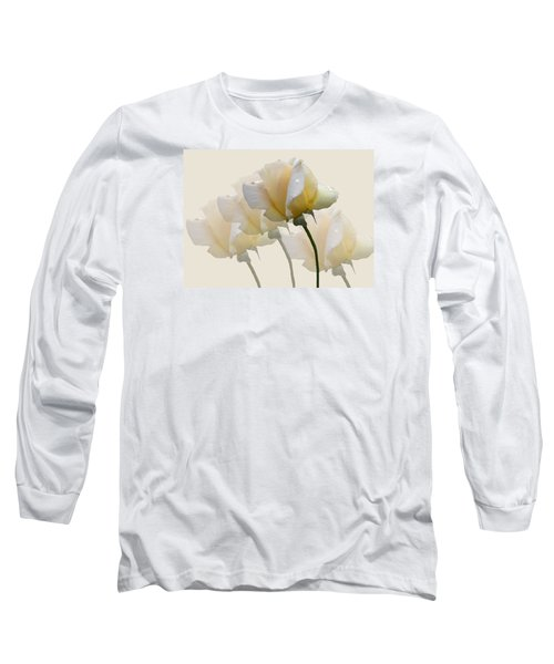 Long Sleeve T-Shirt featuring the photograph Pale Yellow by Rosalie Scanlon