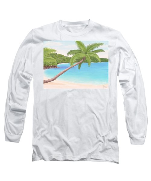 Palm In Paradise Long Sleeve T-Shirt
