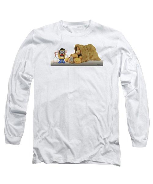 Papa Got A Brand New Bag Long Sleeve T-Shirt by Ferrel Cordle