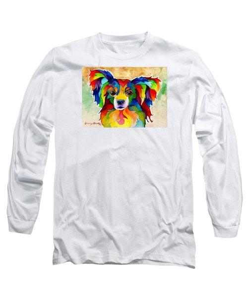 Papillon Long Sleeve T-Shirt by Sherry Shipley