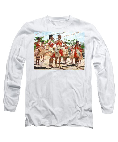 Papua New Guinea Cultural Show Long Sleeve T-Shirt