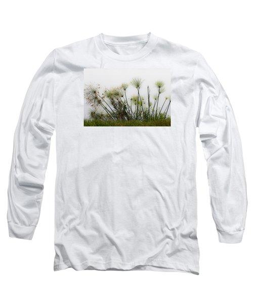 Papyrus Long Sleeve T-Shirt by Menachem Ganon