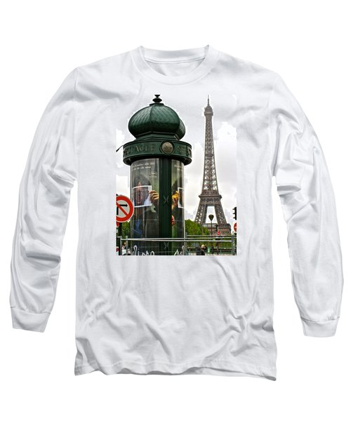 Long Sleeve T-Shirt featuring the photograph Paris by Ira Shander