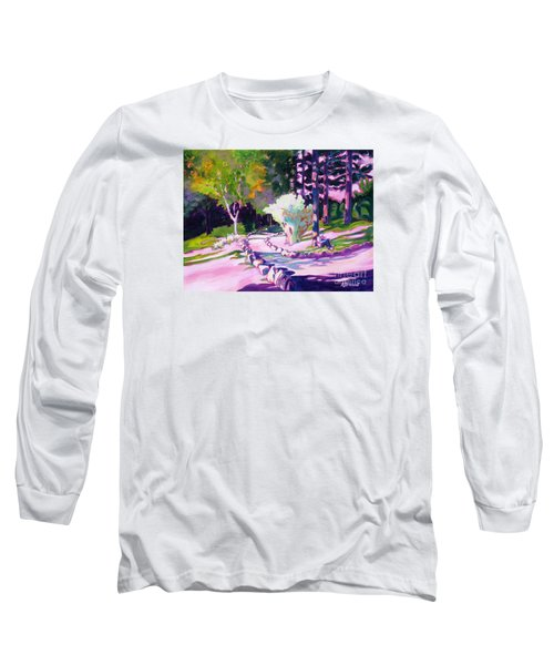 Park Trails 2           Long Sleeve T-Shirt by Kathy Braud