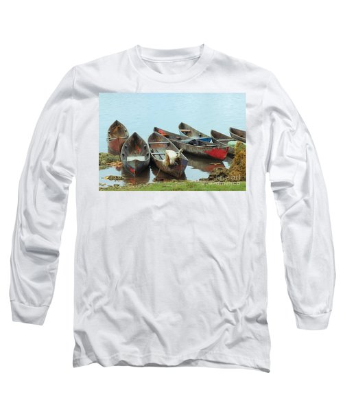 Parking Boats Long Sleeve T-Shirt