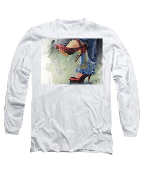 Party Shoes Long Sleeve T-Shirt