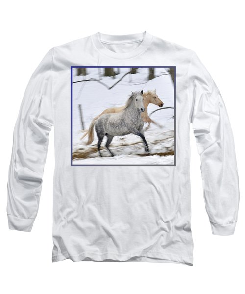 Paso Fino Mares Take Flight Long Sleeve T-Shirt by Patricia Keller