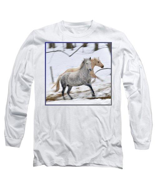 Paso Fino Mares Take Flight Long Sleeve T-Shirt