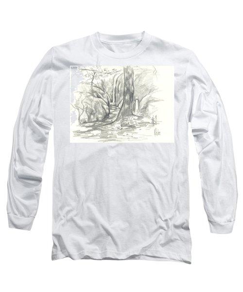 Passageway At Elephant Rocks Long Sleeve T-Shirt