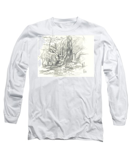 Passageway At Elephant Rocks Long Sleeve T-Shirt