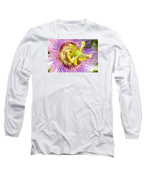 Passiflora The Passion Flower Long Sleeve T-Shirt