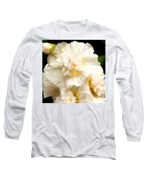 Pastel Delphinium Long Sleeve T-Shirt by Jerry Cowart