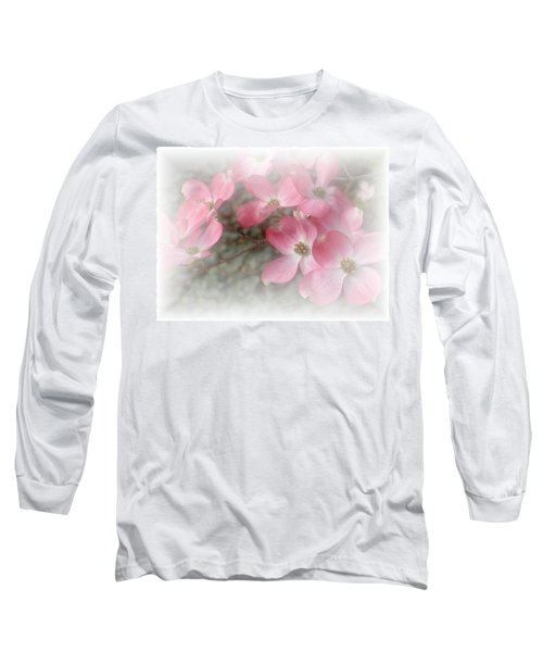 Pastels In Pink Long Sleeve T-Shirt