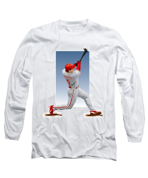 Pat The Bat Burrell Long Sleeve T-Shirt