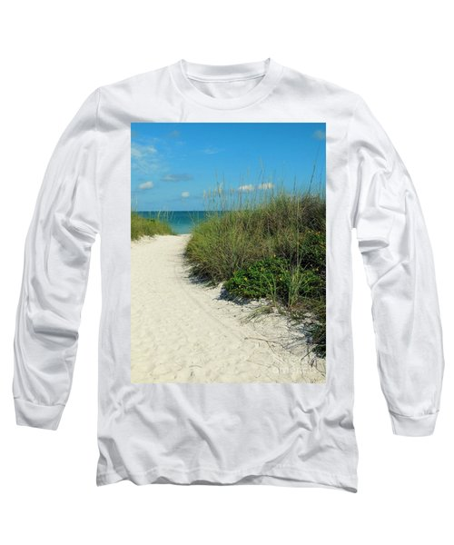 Path To Pass -a- Grille Long Sleeve T-Shirt by Valerie Reeves