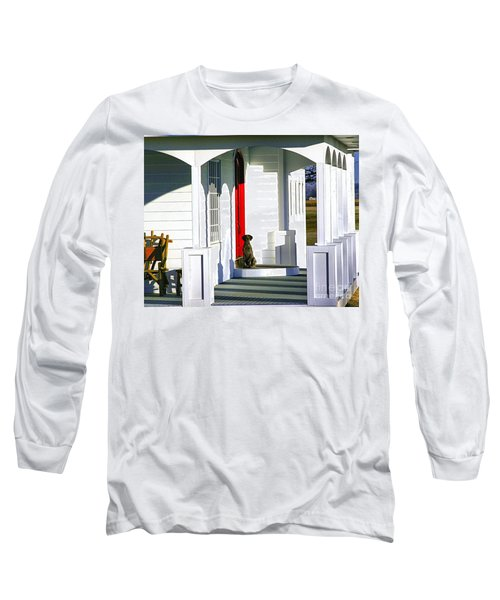 Patience Long Sleeve T-Shirt by Steven Reed