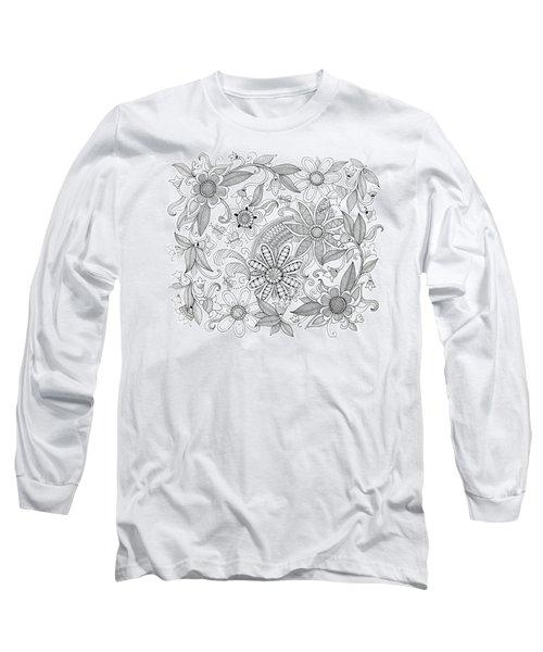Pattern 3 Long Sleeve T-Shirt
